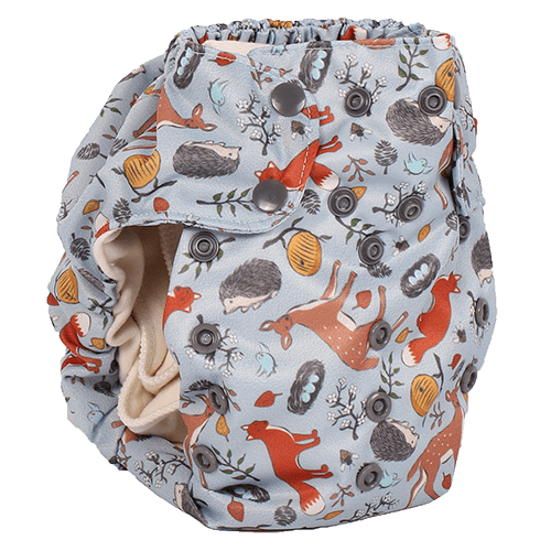 Smart Bottoms Smart One 3.1 Cloth Diaper - Forest Friends