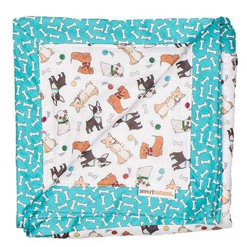 Smart Bottoms Snuggle Blanket - Fido