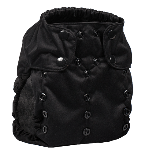 Smart Bottoms Too Smart 2.0 Diaper Cover - Basic Black
