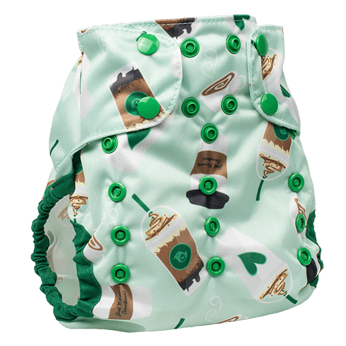 Smart Bottoms Too Smart 2.0 Diaper Cover - Daily Grind