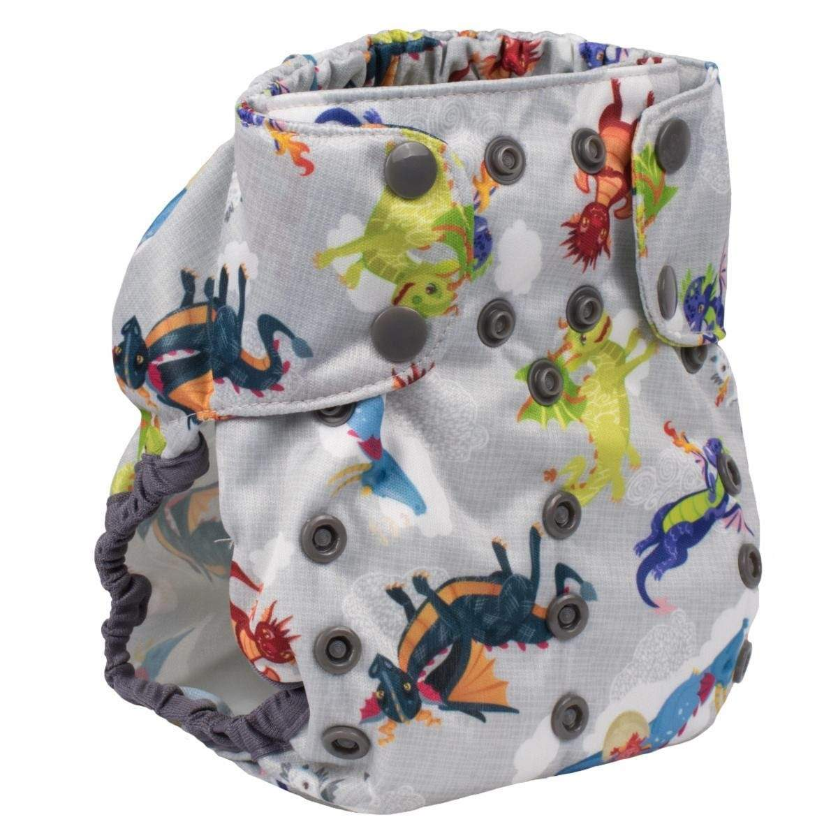 Smart Bottoms Too Smart 2.0 Diaper Cover - Dragon Dreams