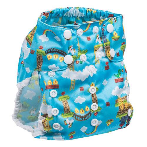Smart Bottoms Too Smart 2.0 Diaper Cover - Gamer
