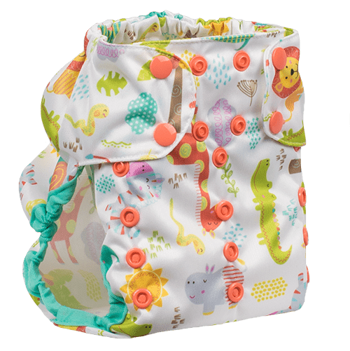 Smart Bottoms Too Smart 2.0 Diaper Cover - Wild About You