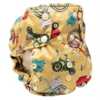 Smart Bottoms Too Smart Diaper Cover - How We Roll