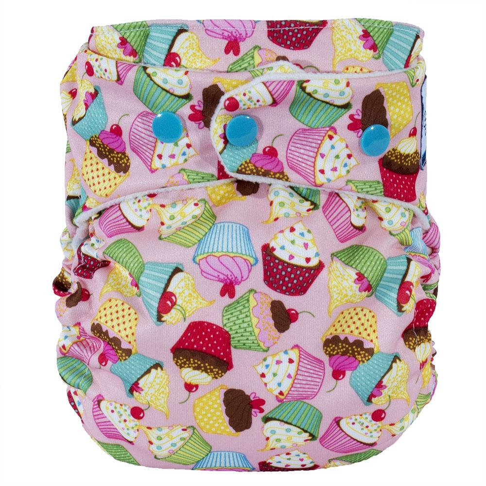 SoftBums Omni Hook and Loop Diaper Shell - Birthday Bash