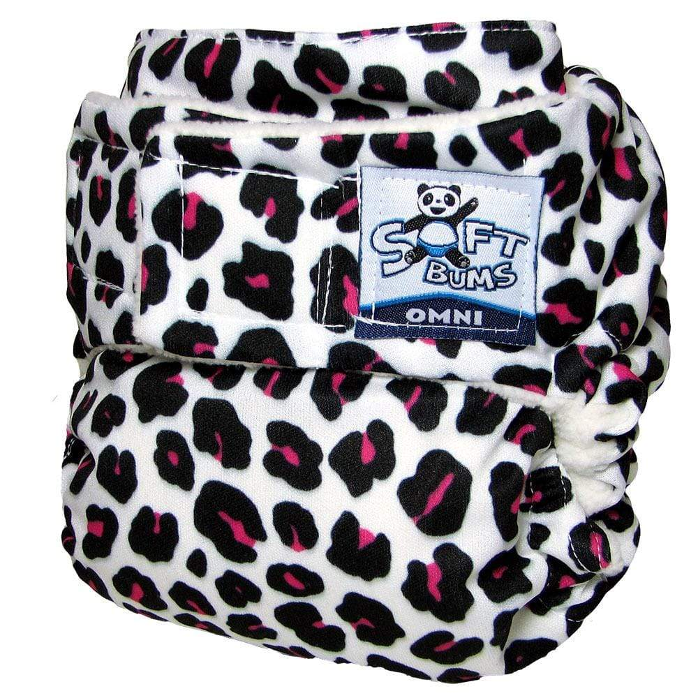 SoftBums Omni Hook and Loop Diaper Shell - Miss Kitty