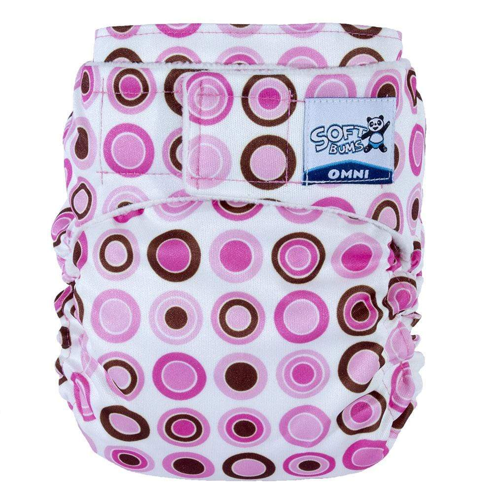 SoftBums Omni Hook and Loop Diaper Shell - Queen of Hearts