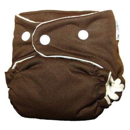 SoftBums Omni Snap Diaper Shell - Chocolate