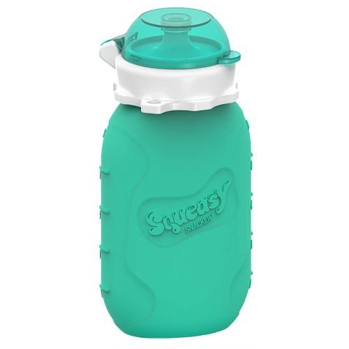 Squeasy Gear Snacker 6 oz - Aqua