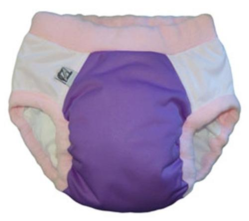 Super Undies Microfiber Nighttime Undies - Purple Pixie Size 1