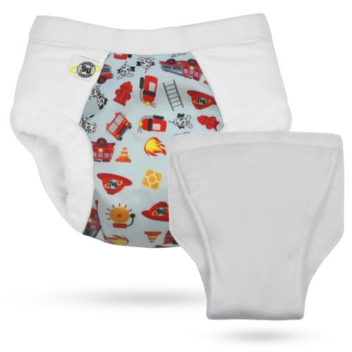 Super Undies Nighttime Hero Undies - Shell - Fire Chief - Nicki's Diapers