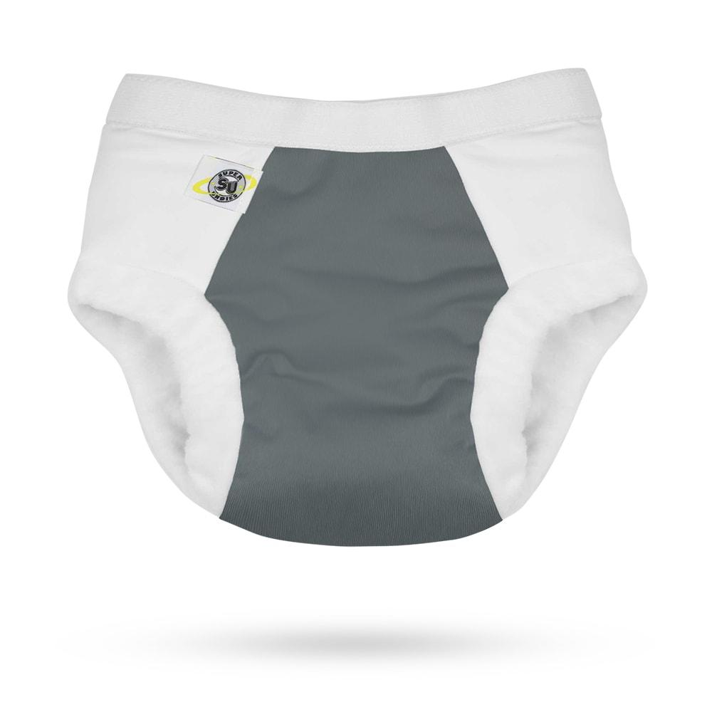 Super Undies Nighttime Hero Undies - Shell - Slate - Nicki's Diapers