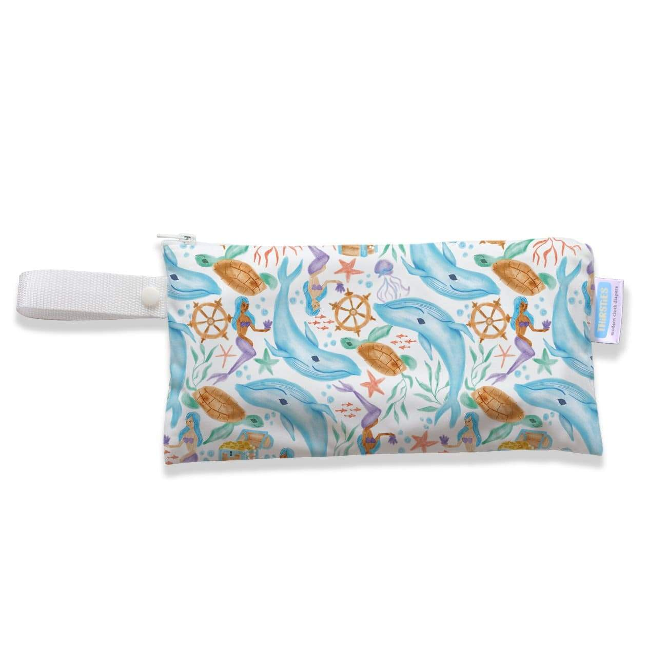 Thirsties Clutch Bag - Mermaid Lagoon