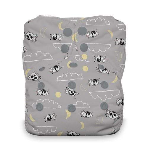 Thirsties Natural One Size Snap All In One Diaper - Over the Moon