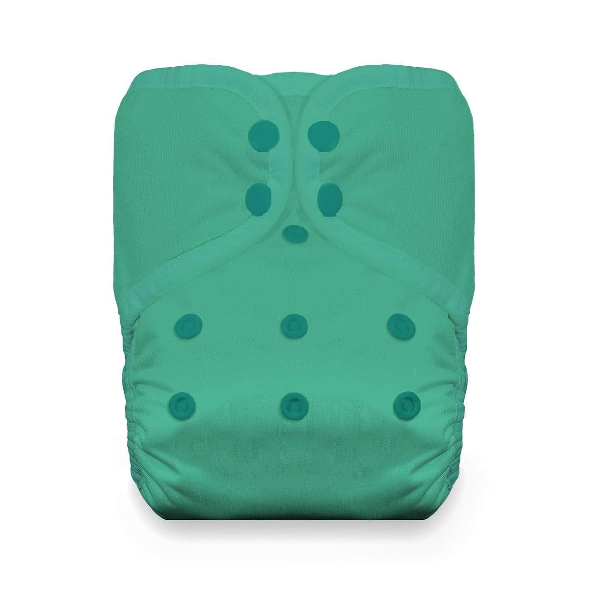 Thirsties Natural One Size Snap Pocket Diaper - Seafoam