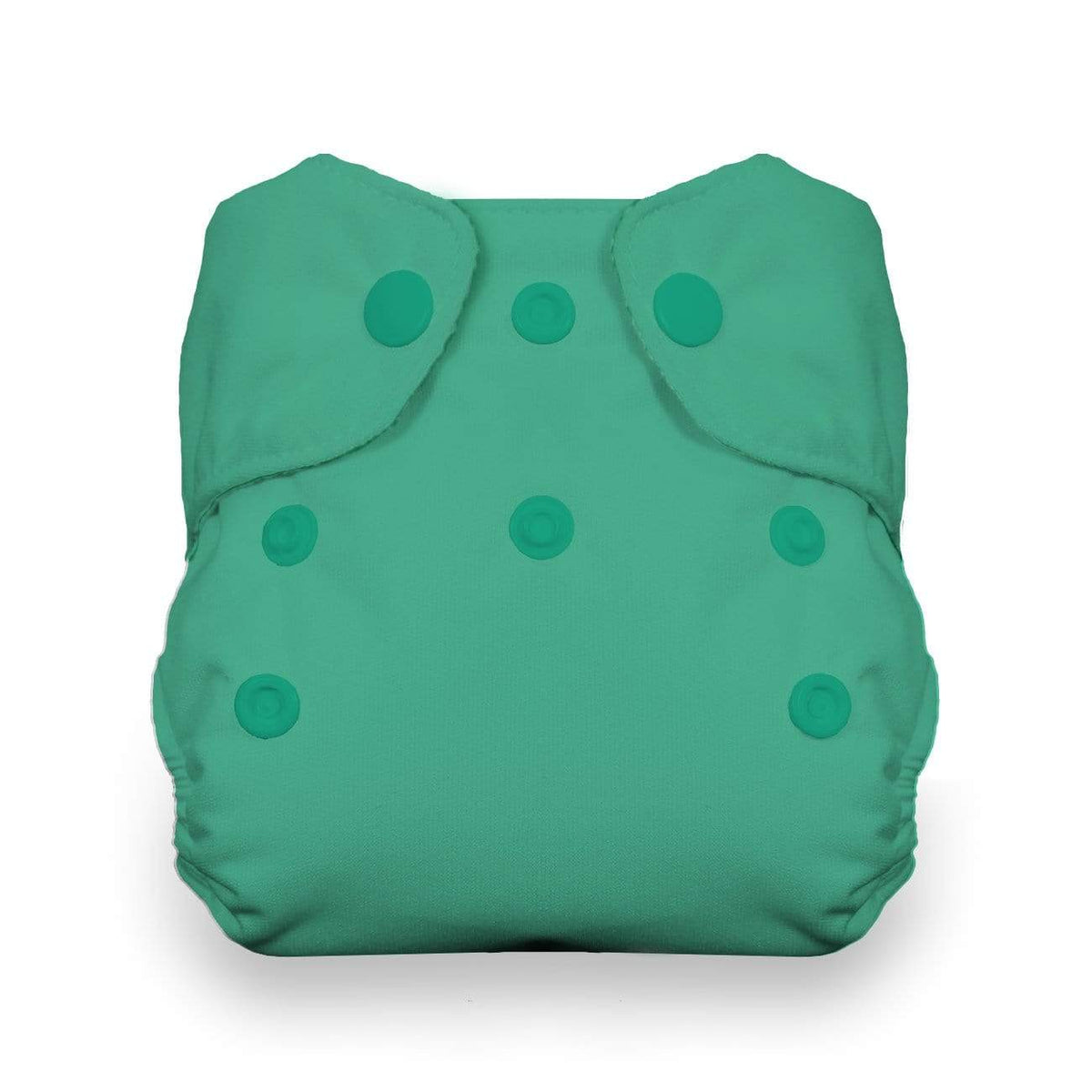 Thirsties Newborn Snap All In One Diaper - Seafoam