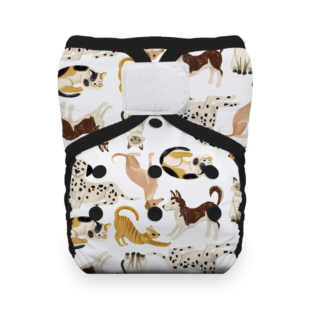 Thirsties One Size Hook and Loop Pocket Diaper - Pawsitive Pals