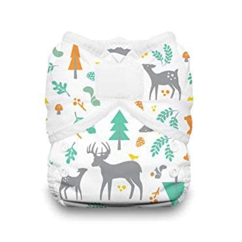 Thirsties One Size Hook and Loop Pocket Diaper - Woodland - Nicki's Diapers