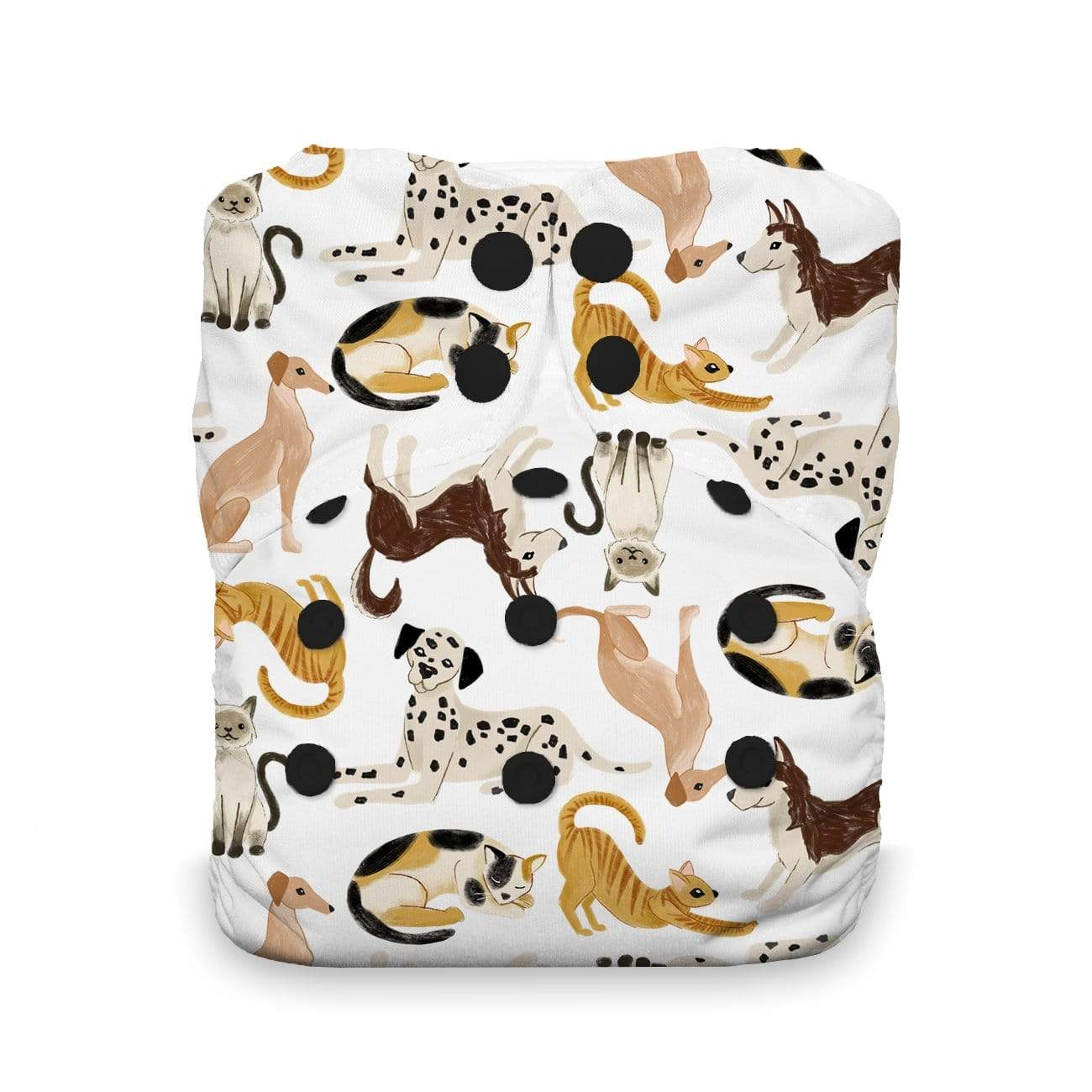 Thirsties One Size Snap All In One Diaper - Pawsitive Pals