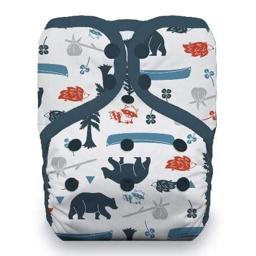 Thirsties One Size Snap Pocket Diaper - Adventure Trail
