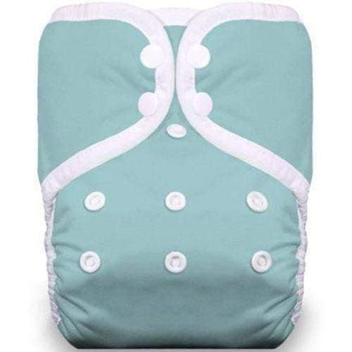 Thirsties One Size Snap Pocket Diaper - Aqua