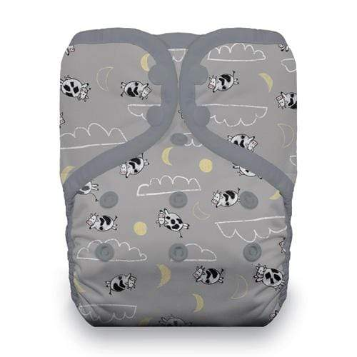 Thirsties One Size Snap Pocket Diaper - Over the Moon