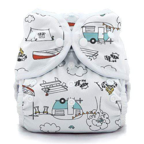 Thirsties Snap Duo Wrap - Happy Camper