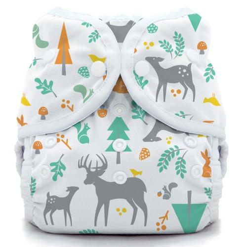 Thirsties Snap Duo Wrap - Woodland