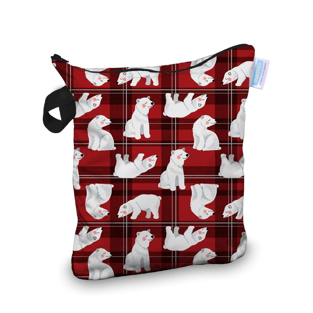 Thirsties Wet Bag - Polar Plaid