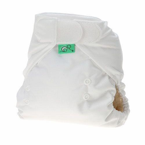 TotBots TeenyFit Star Newborn All in One - White