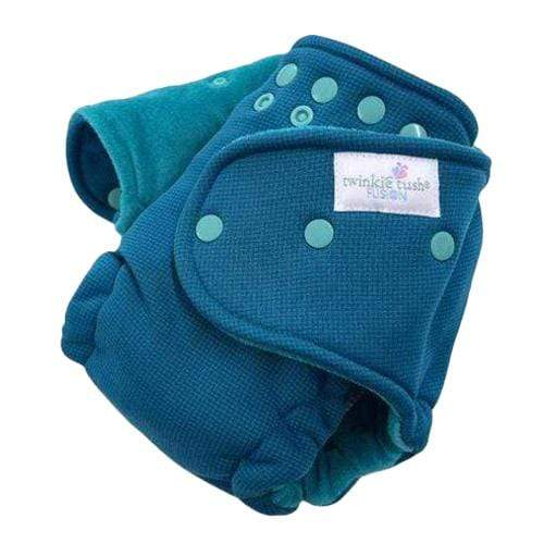 Twinkie Tush Fusion Simplify Fitted Diaper - Teal
