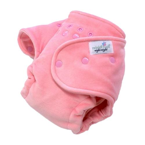Twinkie Tush Night Night Fitted Diaper - Pink