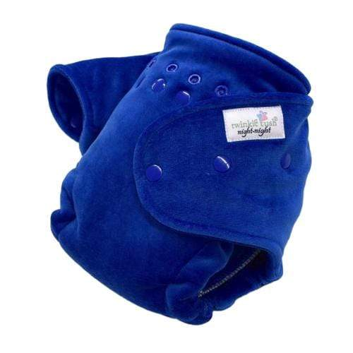 Twinkie Tush Night Night Fitted Diaper - Royal Blue
