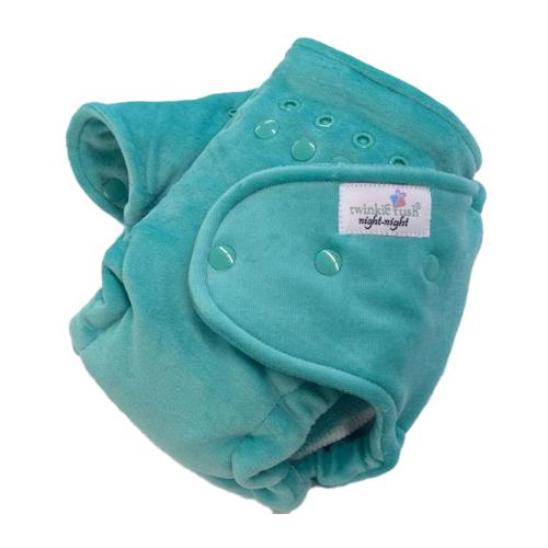 Twinkie Tush Night Night Fitted Diaper - Seafoam