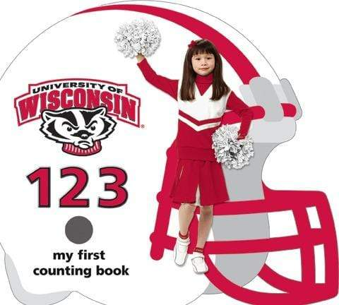 University of Wisconsin Badgers 123 Board Book