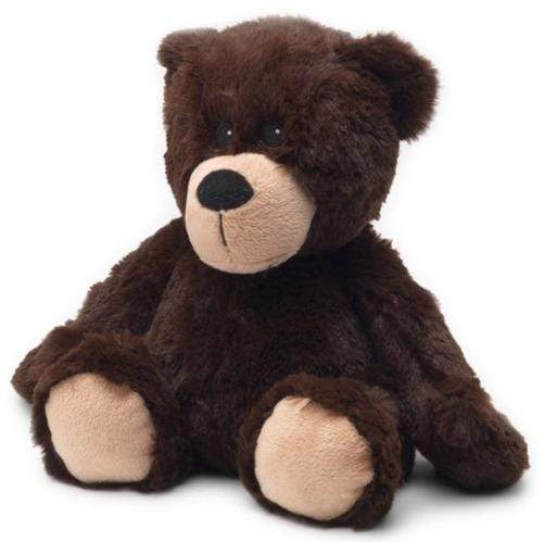 Warmies Plush Stuffed Animal - Brown Bear