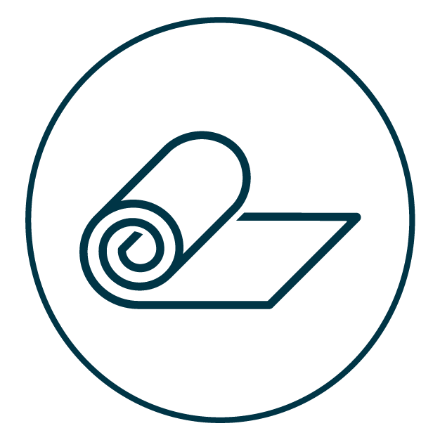 Roll of Fabric Icon