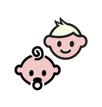 Baby and Toddler Icon