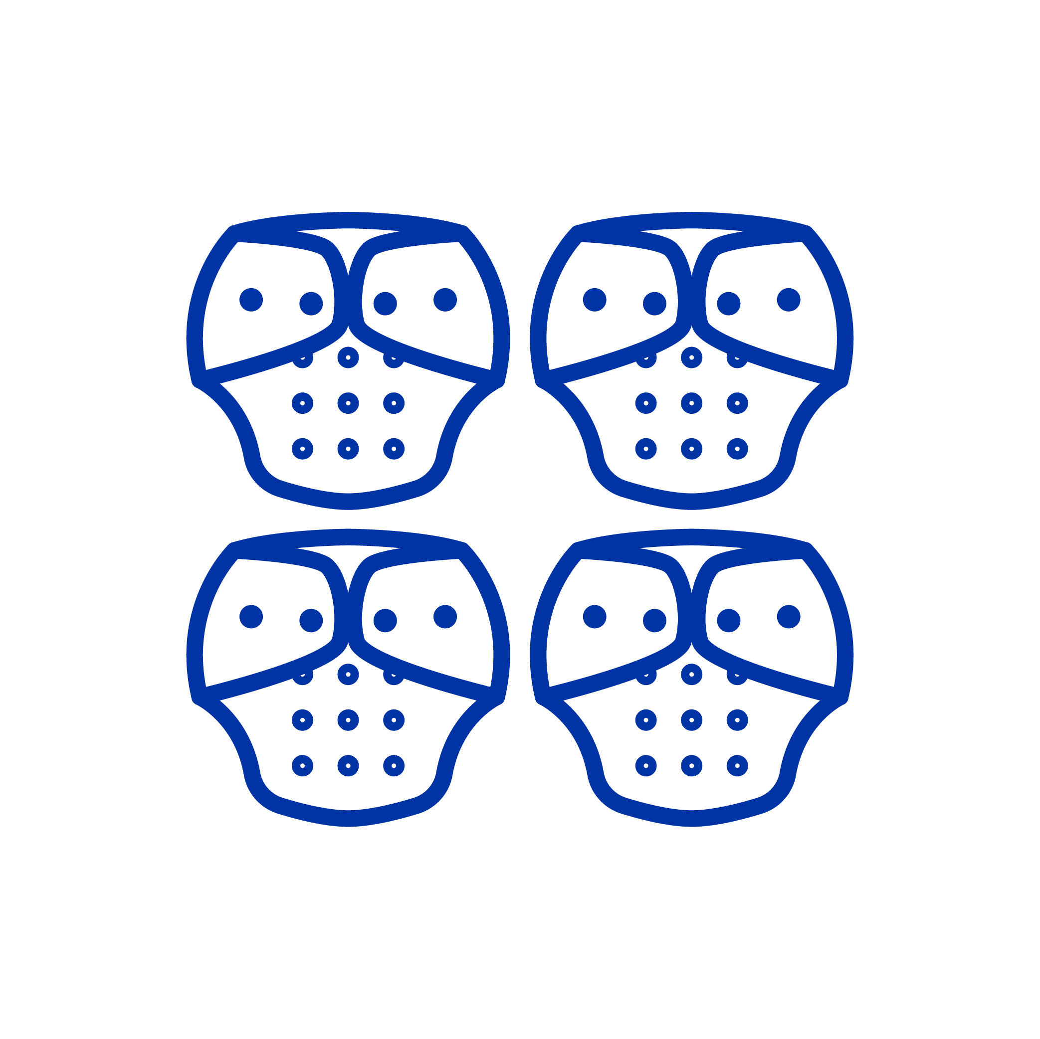 4 Cloth Diapers Icon