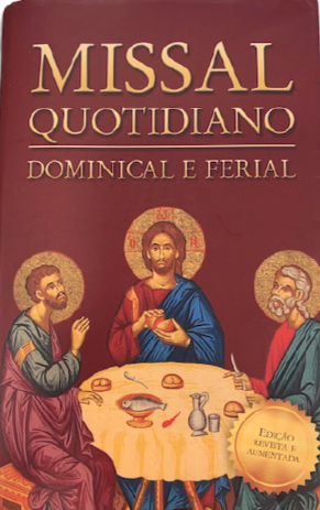 Missal Quotidiano - Fatima Shop - Loja O Pastor
