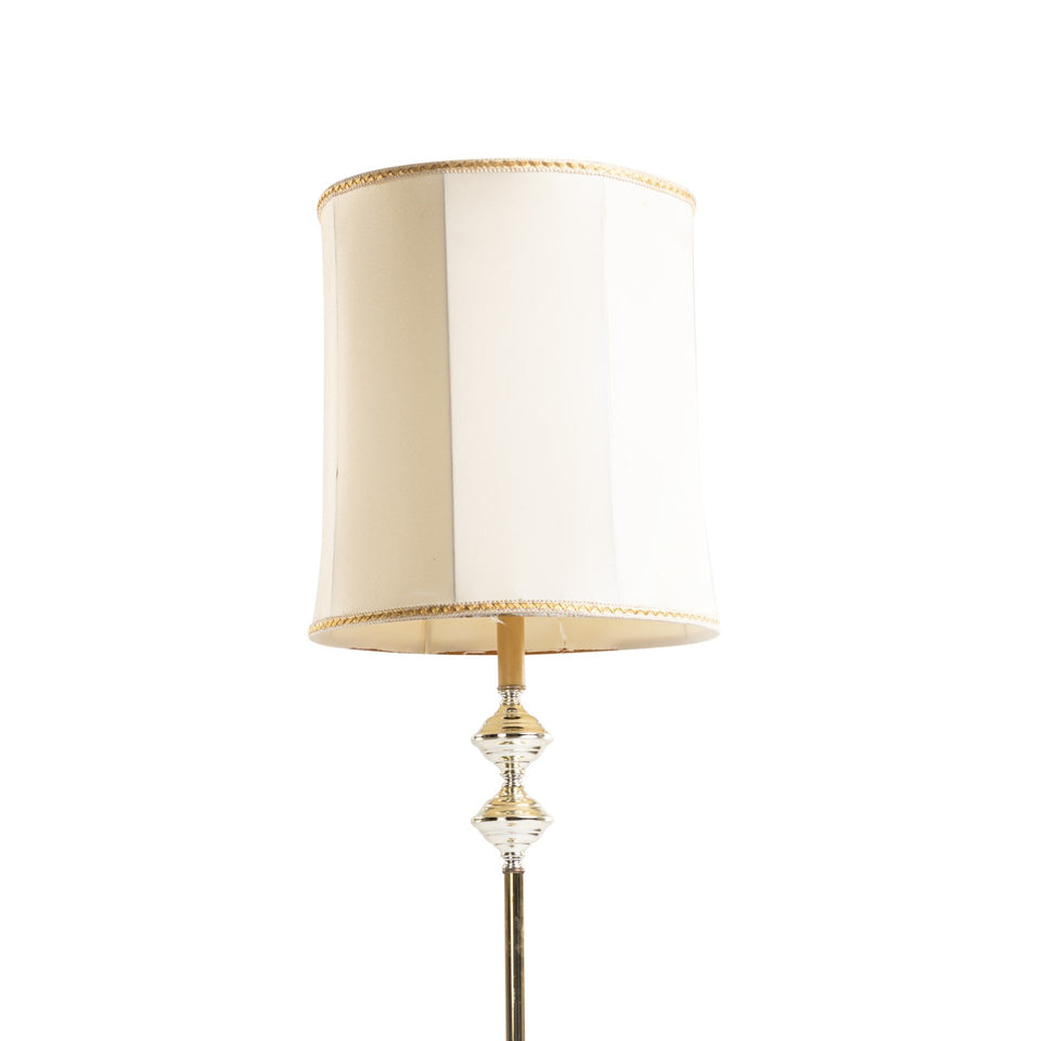 Antique Gold Floor Lamp