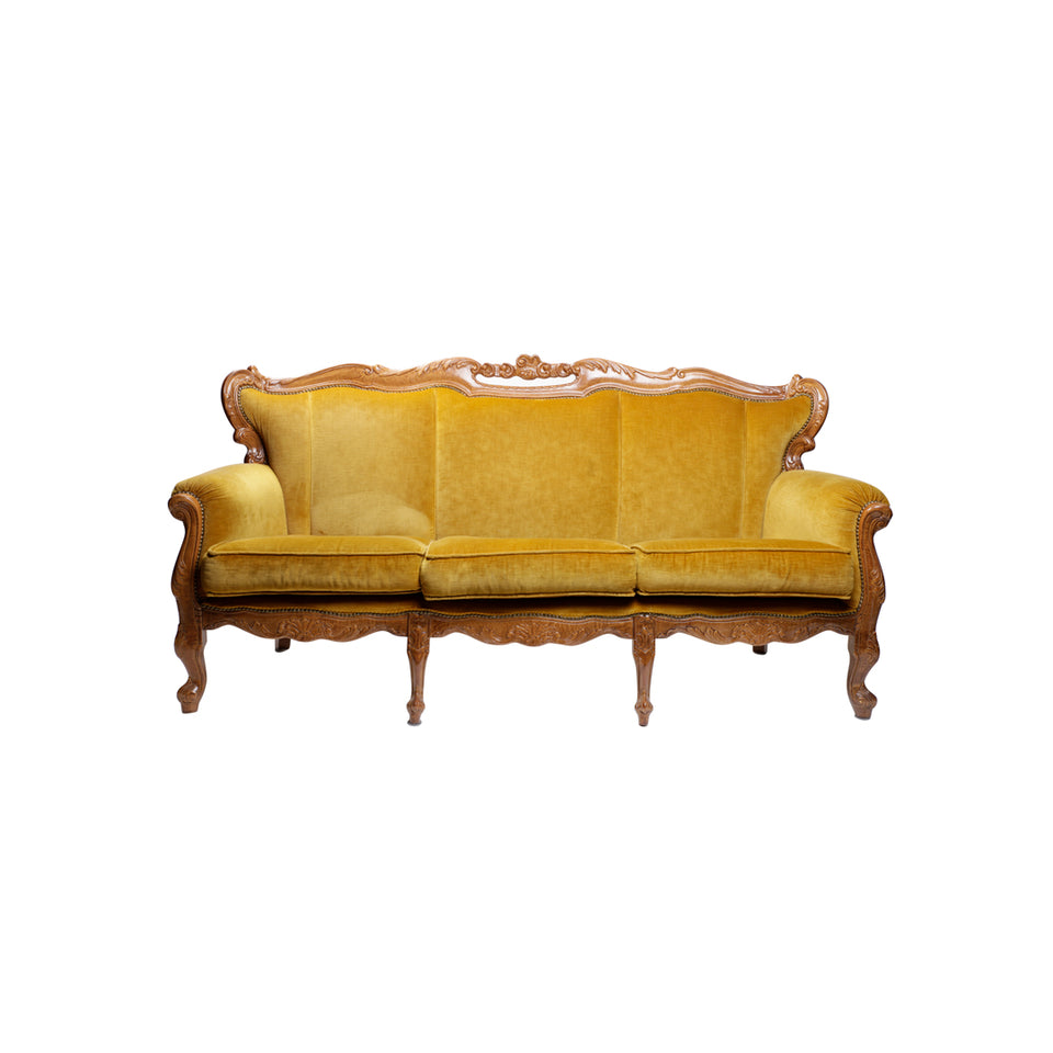 Gold Antique Sofa