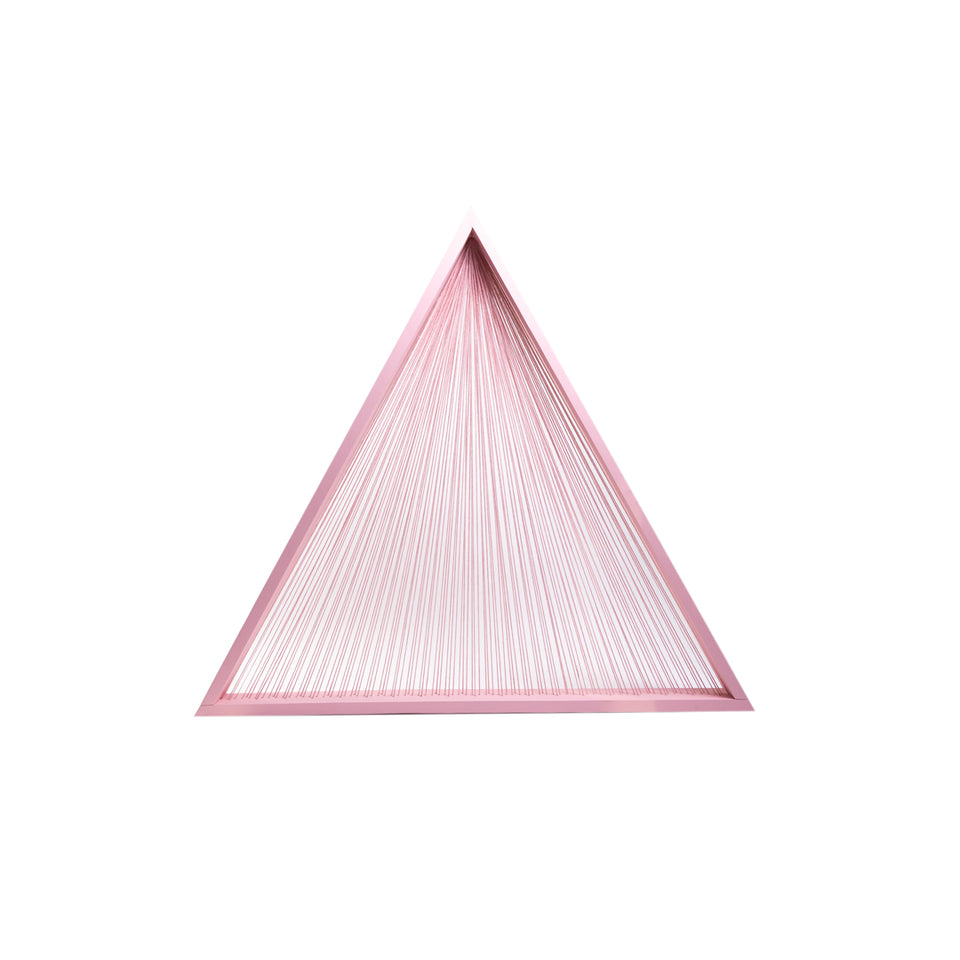 5 1/2 Foot Custom Pink Triangle Prop