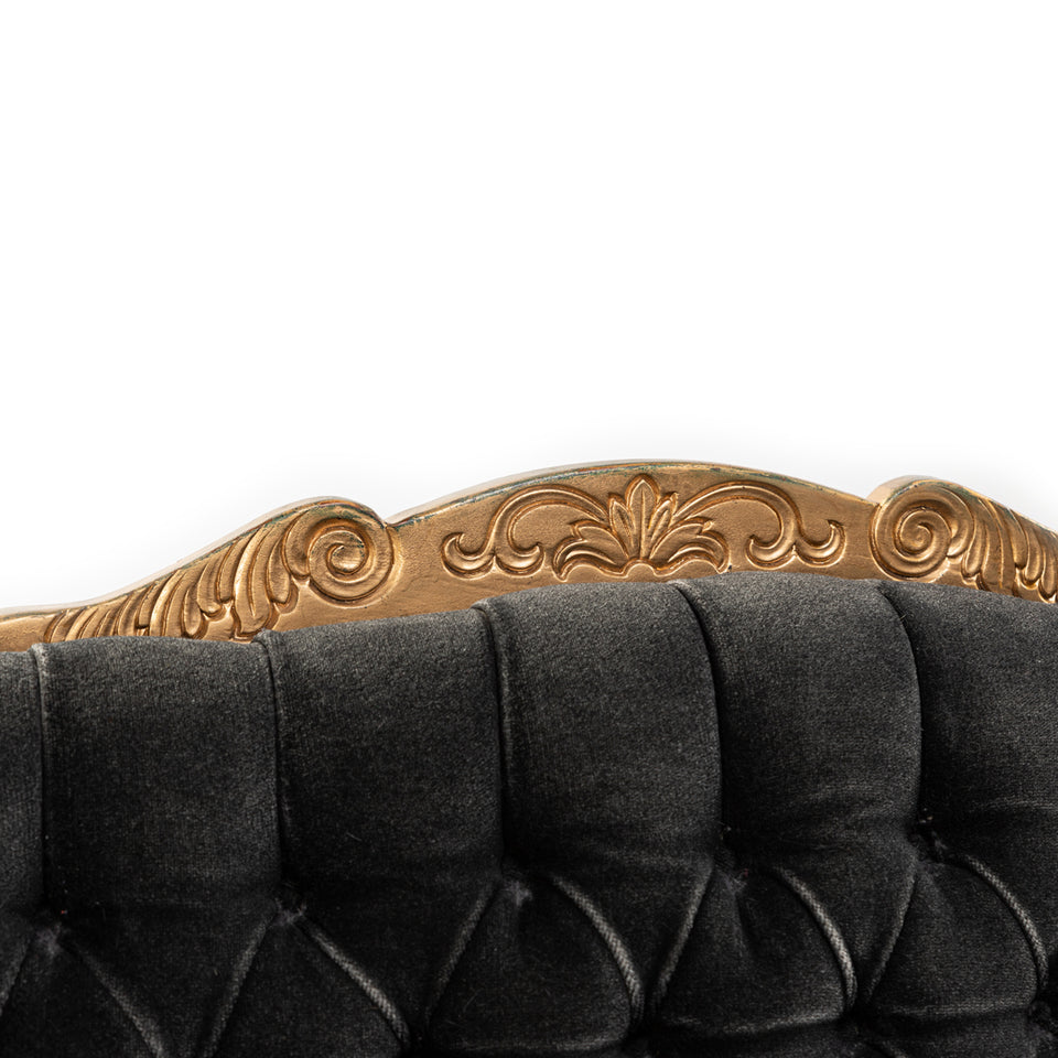 Black and Gold French Provincial