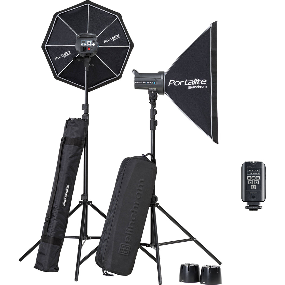 KIT- Elinchrom D-Lite RX 4 (kit)