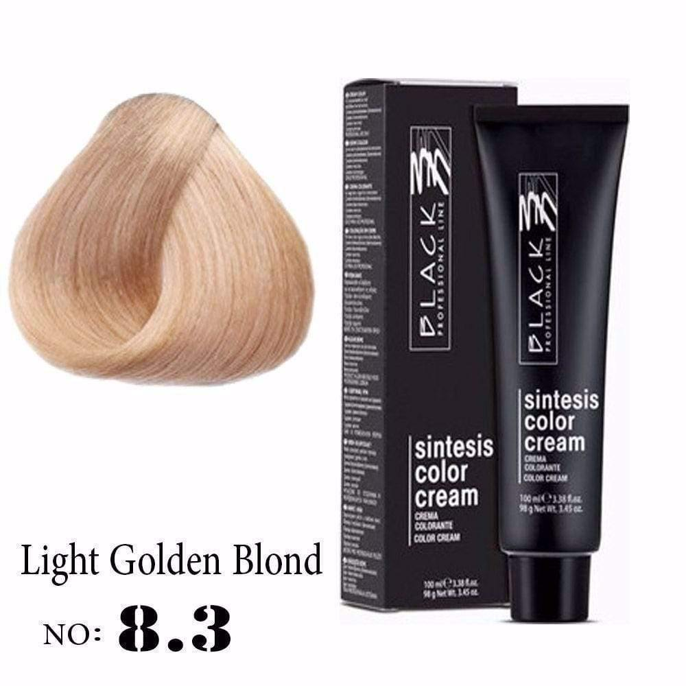 Hair color, Hair coloring Light golden blond hair color, 8.3 hair color