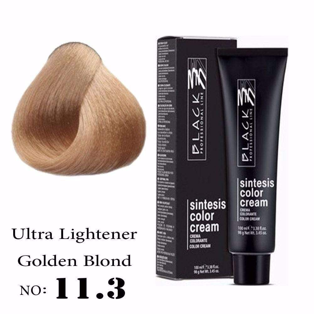 Hair color, Hair coloring, Ammonia, Ultra lightener golden blond hair color, 11.3 hair color