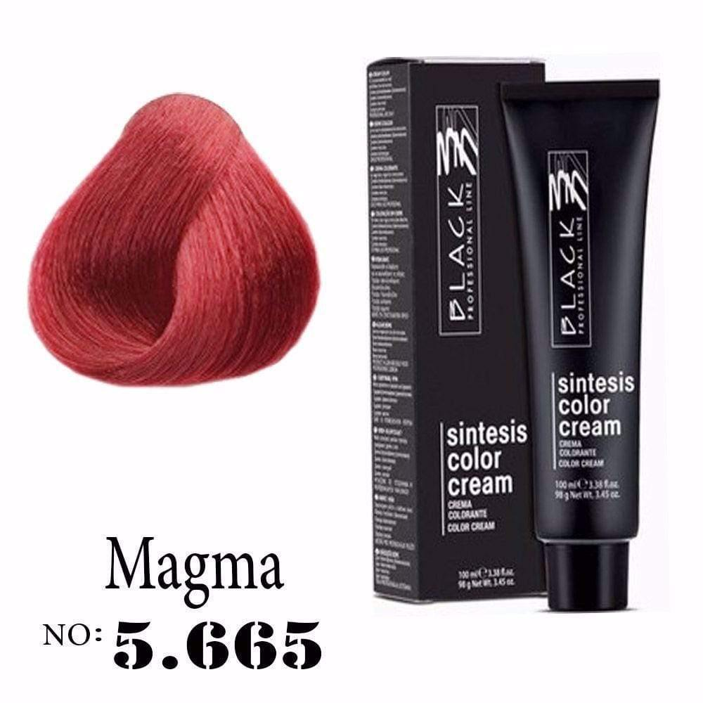 Hair color, Hair coloring, Magma, 5.665