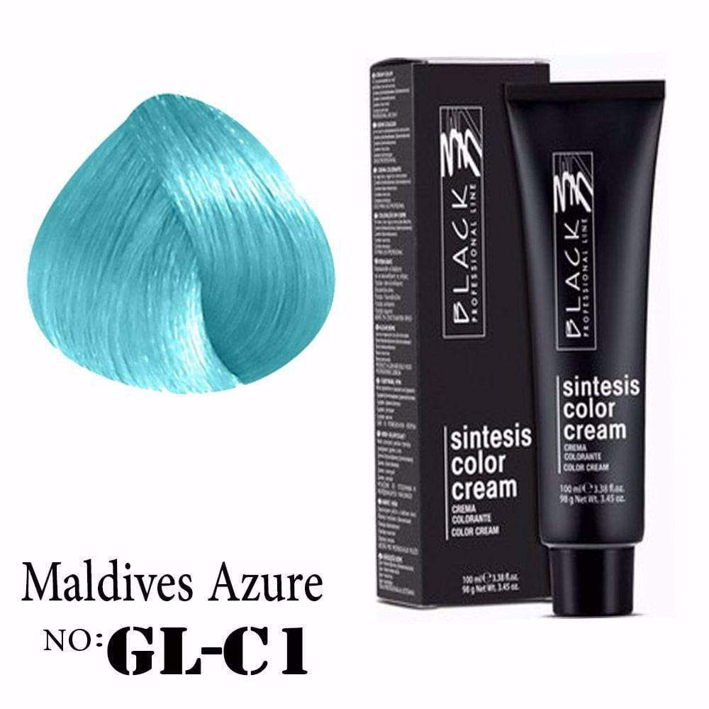 Hair color, Hair coloring, Ammonia, Maldices azure hair color, GLC1 hair color