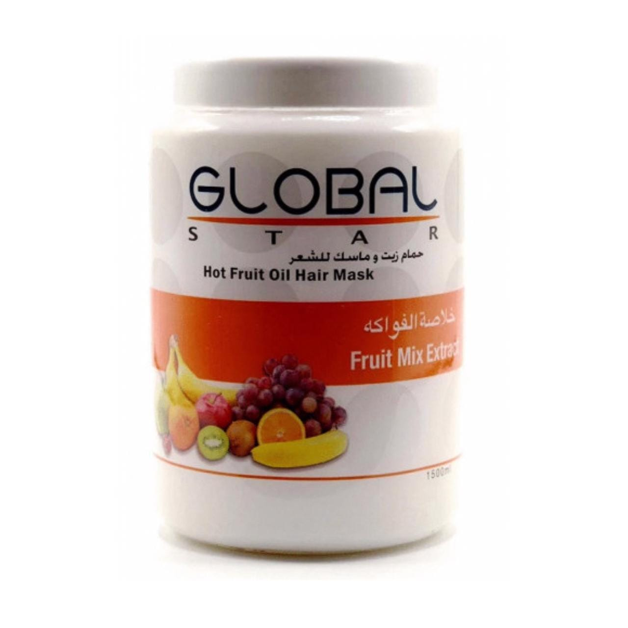 Globalstar Hot Oil Hair Mask Mix Fruit Extract 1500ml